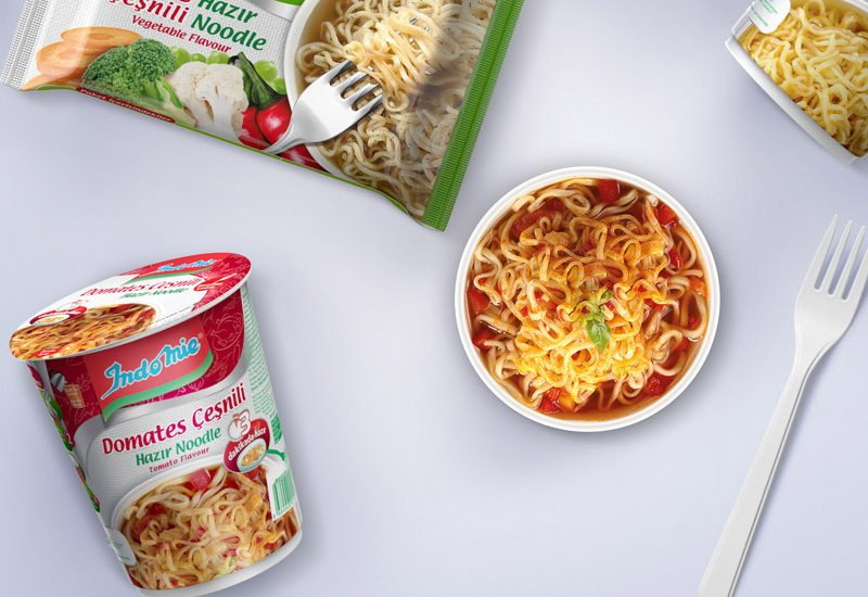 indomie packaging design